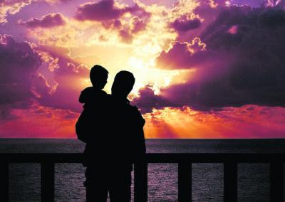 Voor vaders die moeite hebben met het zeggen aan hun kinderen dat ze in de gevangenis verblijven