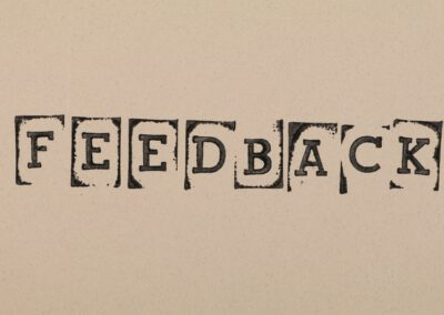 FEEDBACK – Wie ga jij vandaag positieve feedback geven?